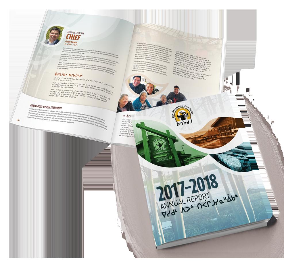 Ouje AnnualReport-2017-2018-spread